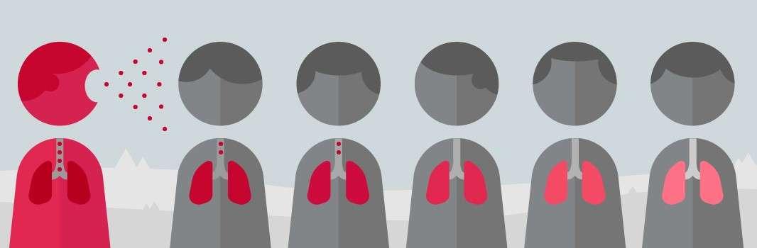 Путь распространения туберкулеза